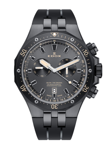 Men's watch Edox 10109 357GNCA NINB
