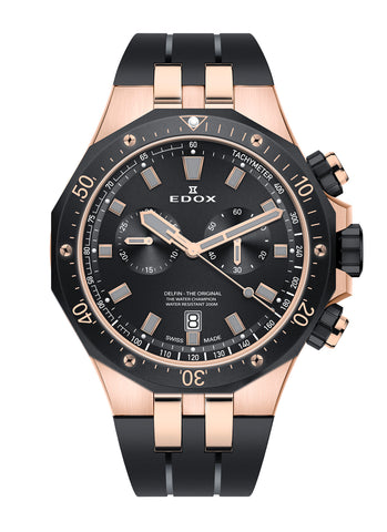 Men's watch Edox 10109 357RNCA NIRG