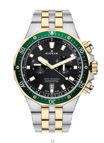 Men's watch Edox 10109 357JVM NID