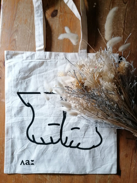 Tote bag - Pattes de chat