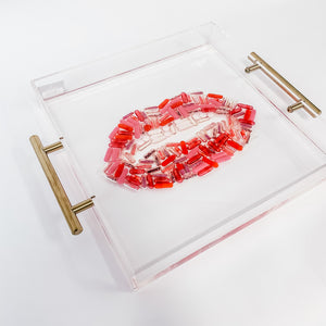 Large Serving Platter | Pill Lips