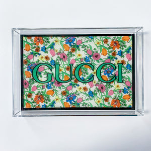 Small Tray | Floral Gucci