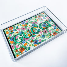 Load image into Gallery viewer, Small Tray | Floral Gucci