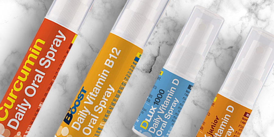 Oral Vitamin Spray Range