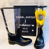 Transparent Rain Boot