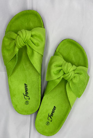 Lime Bow slides