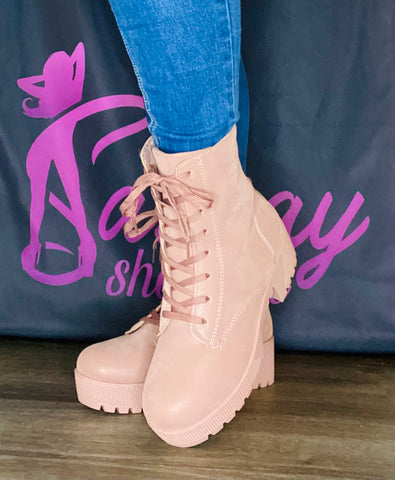 Blush Ankle Boot