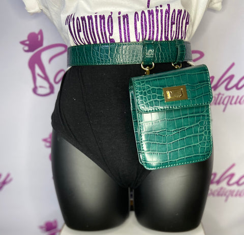 Fanny Hip Bag (Alligator)