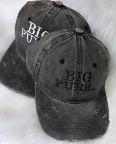 Big Purr Dad Hat