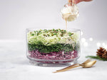 Layered Maple Cabbage Salad