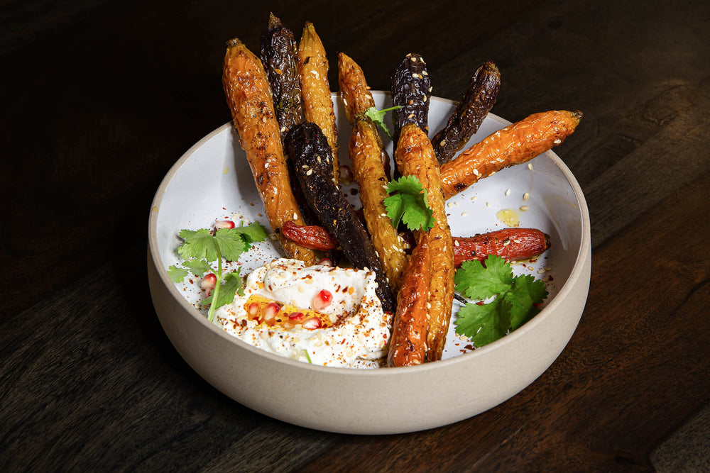 Roasted carrots with Magical Rub