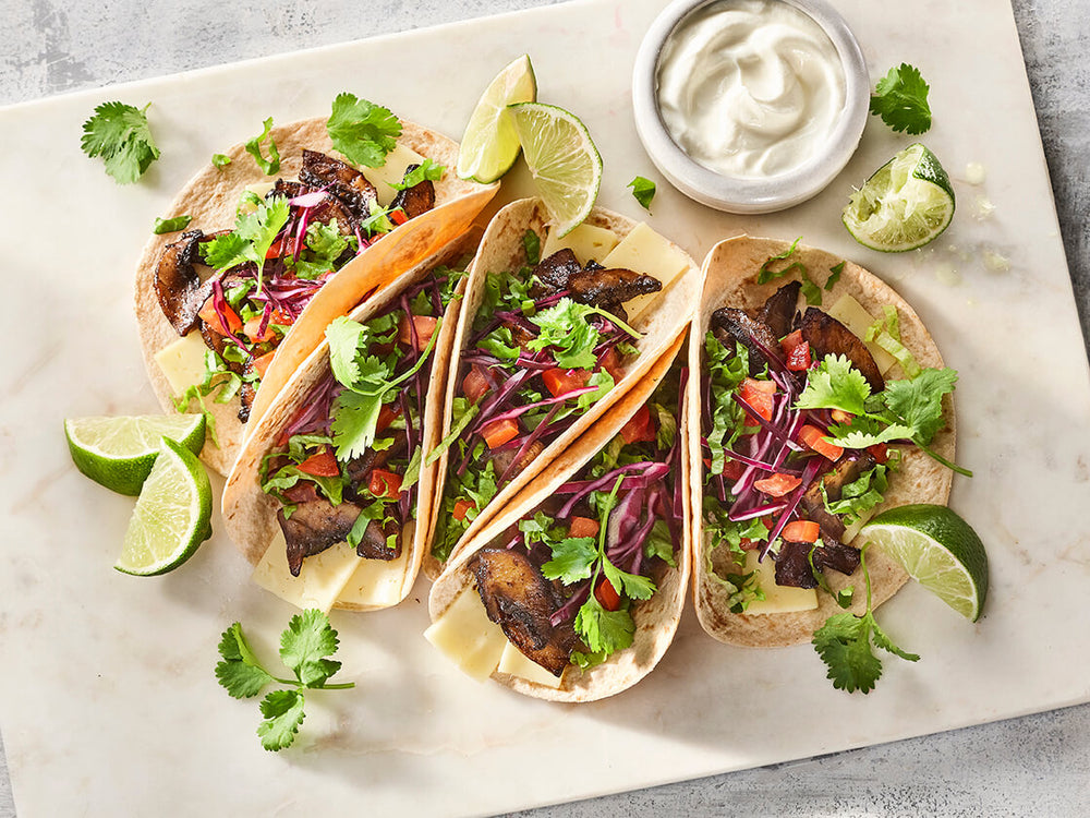 Maple-Chipotle Portobello Tacos
