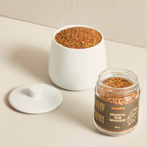Magical rub spices in a bowl - Maple Products | Bretelles