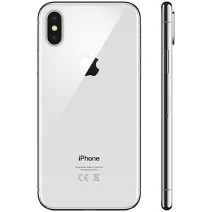 Apple iPhone X sans FaceTime - 64 Go, 4G LTE, Argent
