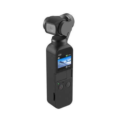 DJI-DJI OSMO Pocket Handheld 3-axis Stabilized Gimbal Camera 4K/60fps Video 12MP Photo Anti-shake Built-in Li-ion Battery