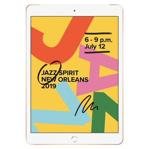 "Apple iPad 7th Gen 32GB WiFi 10.2"" Gold"