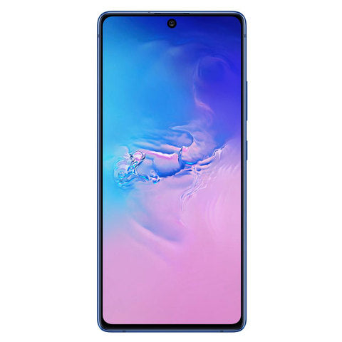 Samsung Be the first to review this product Samsung Galaxy S10 Lite Dual SIM 128GB 8GB RAM 4G LTE (UAE Version) - Blue