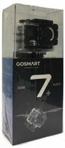 GOSMART - Icon 7 blackPlus 4k/ 30fps,16MP,Bulit-in Screen,WiFi,30m Water Proof 170 Degree Wide Angle Wi-Fi Sports Action Camera