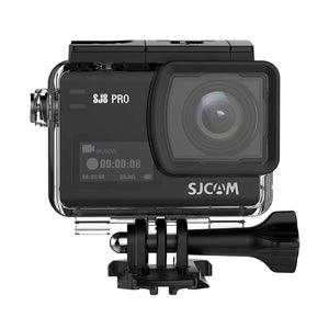 SJCAM - SJ8 Pro 4K 60fps Sport Action Camera Ambarella H22 12MP 30M Waterproof Action Camera - Black