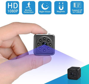 Best Price Mini Spy Cameras SOOSPY 1080P WiFi Hidden Portable Home Survelliance Security Camera Nanny Cam 420mAh Battery with Night Vision and Motion Detection Best
