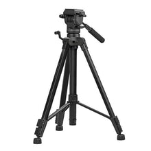 Charger l'image dans la galerie, Promate Camera Tripod, Professional Aluminum 170cm Tripod with 3 Way Pan head, Quick Release Plate, 5KG Load Capacity, Bubble Level for Canon, Nikon, DSLR Camera, Video Camcorder, Precise-170