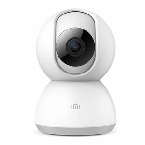 Xiaomi - 360 degree Home Camera, 1080P HD Wireless IP Security Camera Pan/Tilt/Zoom Indoor Surveillance System with Night Vision, Motion Detection and Baby Crying Detection, Remote Monitor with iOS, Android