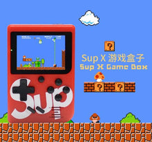 Charger l'image dans la galerie, Sup - Retro Portable Mini Handheld Game Console With 400 in 1 Games Red