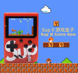 Sup - Retro Portable Mini Handheld Game Console With 400 in 1 Games Red