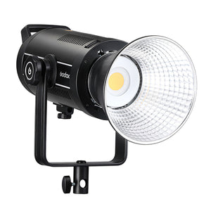 Godox-SL150II 150W Bowens-mount Daylight Balanced LED Video Light 5600K Built-in 2.4G Wireless X System 58000lux 1m CRI96 TLCI97 8 Pre-Programmed FX Special Effects for Wedding Portrait Photography