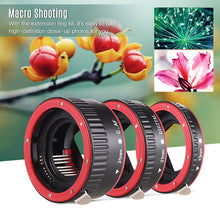 Charger l'image dans la galerie, Andoer-Portable Auto Focus AF Macro Extension Tube Adapter Ring (13mm +21mm +31mm) for Canon EOS EF EF-S Mount Lens for Canon 60D 7D 5D II 550D 7% DISCOUNTOffer ends 02 November