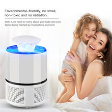 Charger l'image dans la galerie, Decdeal - Electronic Mosquito Killer Lamp USB Power Anti-Mosquito Fly Inhaler Insect Mosquitoes Killer Bug Zapper Non-toxic Eco-friendly Mosquito Trap Light