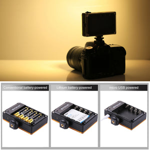 PULUZ-PU4096 For Pocket 104 LEDs 860LM Pro Photography Video Light Studio Light for DSLR Cameras for Cameras Accesories