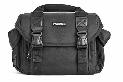 Photo4less Deluxe DSLR Camera Case Shoulder Bag for Canon, Nikon & Sony