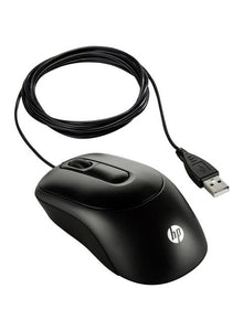 HP X900 USB Optical Gaming Mouse Black
