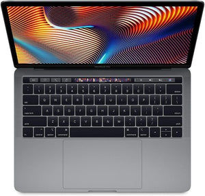 Apple MacBook Pro (13 pouces, Intel Core i5, 2,9 GHz, 8 Go, 256 Go, barre tactile, 4 ports Thunderbolt3, MLVP2), clavier anglais, couleur argent