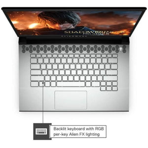 Dell 89VDY M15 Gaming Laptop – Core i7 4.50 GHz 16GB 512GB 6GB Windows 10 Home 15.6inch 1920 x 1080 Silver English Keyboard
