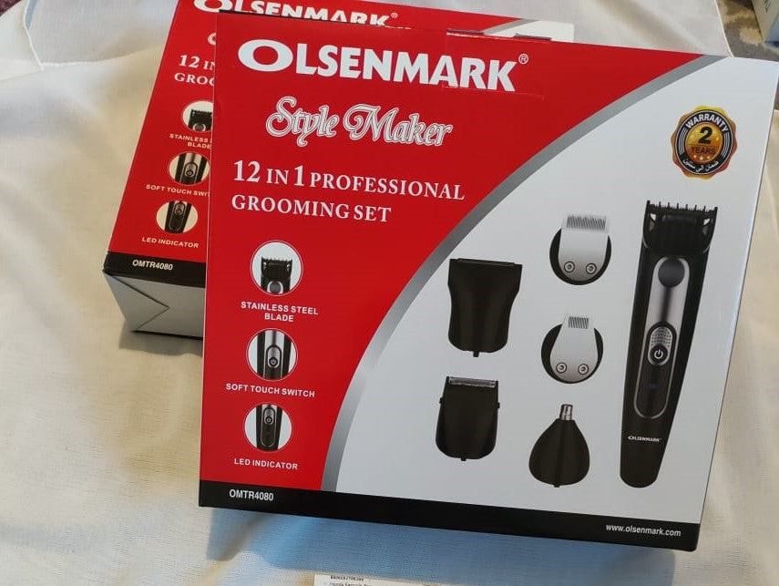 12 en 1 Tondeuse - Olsenmark 12 in one grooming set