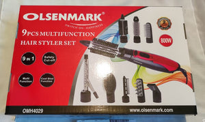 Fer à lisser 9 en 1 - Olsenmark OMH4029 9 in 1 hair straightener