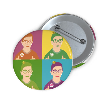 RBG Pop Art Pin - The Protest Shop
