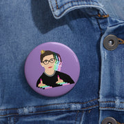 RBG Women Flick 'Em Off Pin [LIMITED EDITION] - The Protest Shop