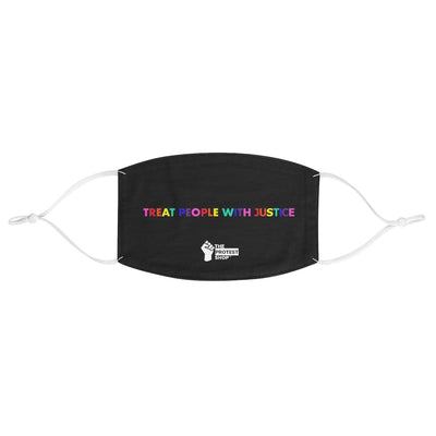 Treat People with Justice Mask - The Protest Shop