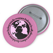 RBG Women Belong In All Places Pin [LIMITED EDITION] - The Protest Shop
