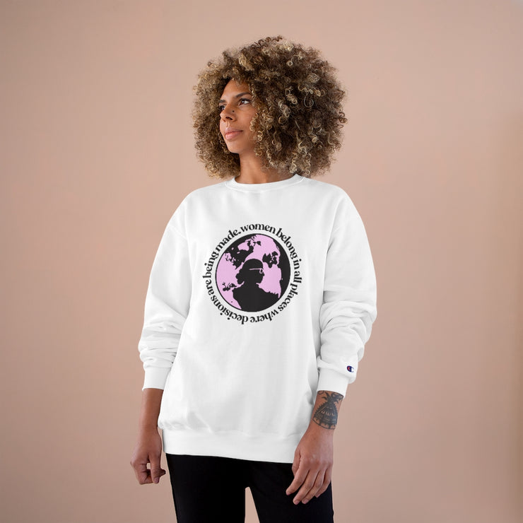 RBG Women Belong Sweatshirt [LIMITED EDITION] - The Protest Shop