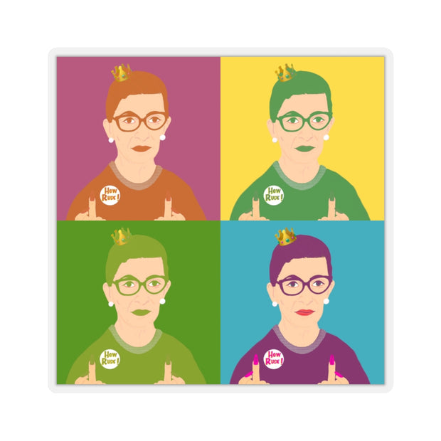 RBG Warhol Sticker [LIMITED EDITION] - The Protest Shop