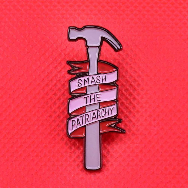 Smash the Patriarchy Pin Enamel - The Protest Shop
