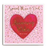 Special Mum And Dad - Anniversary Wishes