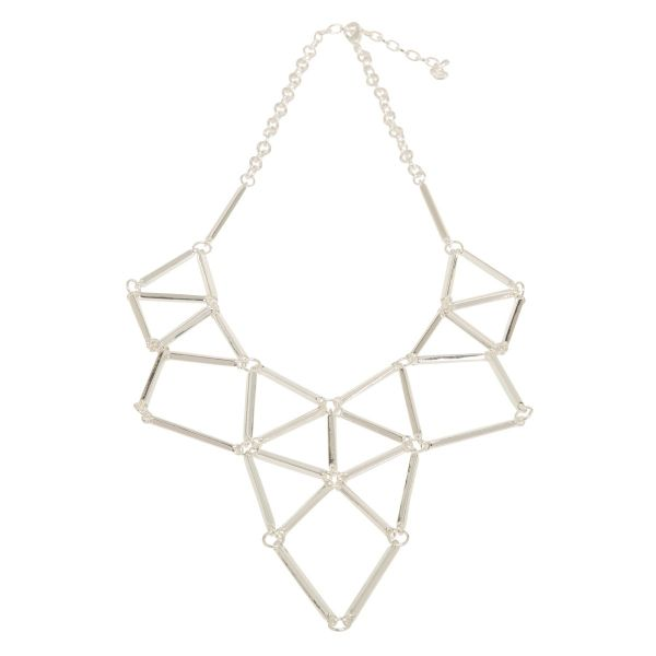 Fashion Necklace - Diamond shapes