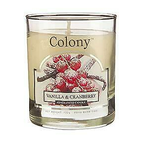 Vanilla And Cranberry Candle