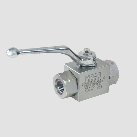 2 Way High Pressure Hydraulic Ball Valve