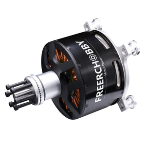 FRC 15kw MP12090 Brushless DC Outrunner Motor with 40kg Thrust for Electric Paramotor